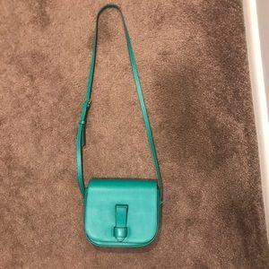 Banana Republic Leather Saddle Crossbody Bag